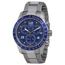 Tissot T-sport V8 Blue Dial Stainless Steel Mens Watch JD5CJP