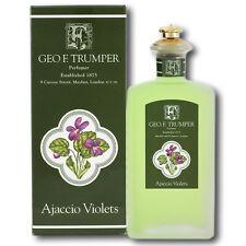 Geo F Trumper Ajaccio Violets Cologne Glass Crown Topped Splash Bottle (100ml)