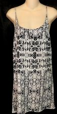Mikoh Dress Short Black And White Silk  Size Small NWT