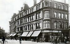Coventry King's Head Hotel Shop unused sepia  RP old postcard Teesee Good