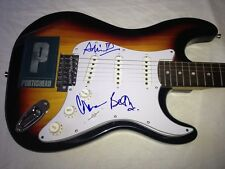 PORTISHEAD SIGNED GUITAR X3 BETH GIBBONS Dummy Third Geoff Barrow Adrian PROOF