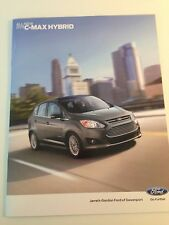 2013 Ford C-MAX HYBRID Original Sales Brochure