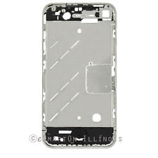 For iPhone 4 CDMA VERIZON Mid Cover Chassis Metal Frame Chrome Bezel HOUSING