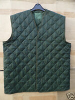 GENUINE BRITISH ARMY ISSUE THERMAL QUILTED COMBAT SMOCK LINERS -1970'S/80'S