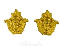 Vintage Cherub Angel Knob Pull Drape Curtain Tie Back Shabby Chic French Chateau