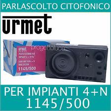 URMET DOMUS 1145/500 Sinthesi posto esterno audio citofonico 4+N fili porter