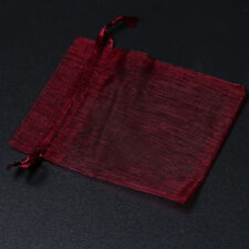 50x New Organza Wedding Pouch XMAS Package Gift Bags Findings 7x9cm On Sale L