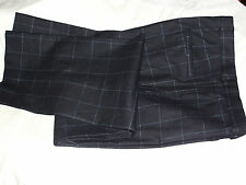MEN'S MULBERRY  FORMAL CHEK SPORT  WOOL TROUSERS UK W34R,,XL33