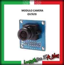 MODULO CAMERA OV7670 640x480 VGA Sensore Videocamera Foto Video Arduino