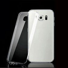 2x Clear Ultra-thin Transparent Soft Case Cover For Samsung Galaxy S6 Edge Plus