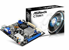 ASRock C70M1 AMD ITX Motherboard SATA 3 and VGA