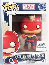 Funko Pop! Captain Marvel Masked GTS Exclusive Vinyl Figure 154