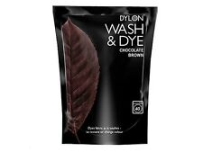 400g Marrón Chocolate Dylon Lavado A Máquina Tinte Tela Ropa Textil Color &