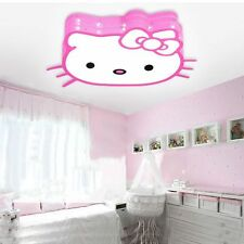 New Lamp LED Hello Kitty Style Kids Ceiling Light Pendant Fixture Lighting Toy