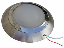 MARINE 12V ROUND DOME INTERIOR CEILING LIGHT FOR CARAVAN, BOAT, RV- FIVE OCEANS