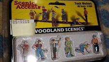 HO Scale Woodland Scenics Ho Scale Figurines Track Workers A1865