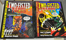 EC ARCHIVES TWO-FISTED TALES VOLUME 1+2 HARDCOVER