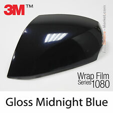 10x20cm FILM Gloss Midnight Blue 3M 1080 GP272 Vinyle COVERING Series Wrapping