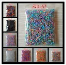 1000 pieces bag Child Baby TPU Hair Holders Rubber Bands Elastics Girl's Tie