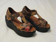 Dr. Doc Martens 'Adaya' Platform Sandals Tan Tattoo US Sz 7 - Gorgeous Style HTF