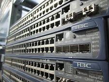 H3C S5600 S5600-50C-PWR 48x 10/100/1000 PoE + 4x SFP Gbit Managed Switch NO PSU
