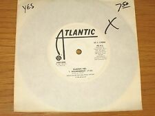 """PROMO 1981 ROCK 33 RPM 7"""" EP (No cover) - YES - ATLANTIC 415 - """"CLASSIC YES"""""""