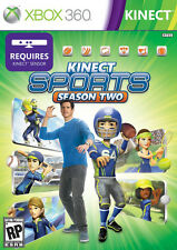 KINECT SPORTS SEASON TWO XBOX 360 GAME PAL FORMAT EXCELLENT CONDITION