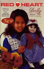 Knitting Crochet Patterns Dolly Me Clothing Accessories Teddy Red Heart