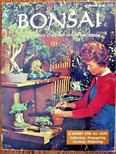 Bonsai Culture and Care of Miniature Trees, Nice Vintage 1971 PaperBack Book