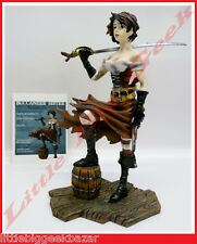 GUERRIERE Corsaire Statue Remi Bostal Pin Up Sexy War Girls Resine BD # NEUF #