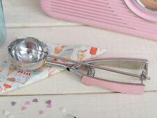 RETRO TREATS Mechanical Pink Handled ICE CREAM SCOOP