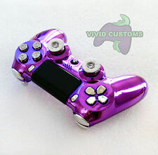 Custom Modified Playstation 4 Dualshock Wireless PS4 Controller - Purple Bullet