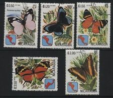 [JSC] Nicaragua Stamp, 1982 Butterfly, Insect Stamp