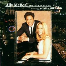 Cd  Ally McBeal For once In My Life Soundtrack
