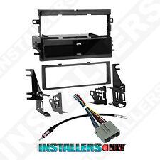 MKX CAR STEREO SINGLE/ISO-DIN W/ POCKET RADIO INSTALL DASH KIT W/ WIRES 99-5812