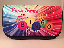 Personalised Bingo pencil case / dabber bag - any name great gift