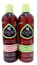 Hask Mint Almond Oil Thickening  Shampoo and conditioner combo  12 oz