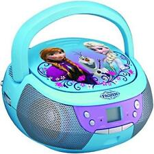 @New@ Frozen Fr-430.Ex Cd Player Boombox With Mic Toy Kids Gift Christmas Gift