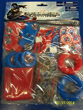 Captain America Winter Soldier Movie Avengers Birthday Party 48 pc. Favor Pack