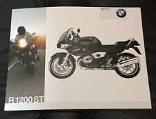 2007 Original BMW R1200ST R 1200 ST Motorcycle Dealer Sales Brochure Fact Sheet