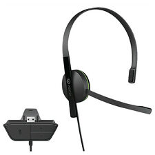 Official Microsoft Xbox One Chat Headset w/Headset Adapter S5V-00007