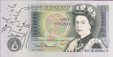 Five Hand Signed 1 Pound Notes Autographed  The Cast Of Coronation Street AFTAL