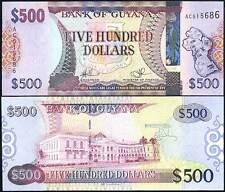 GUYANA 500 DOLLARS ND 2011 P 38 UNC
