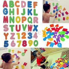 36pcs of Set Bath Tub Foam Letters Numbers Children Learning Toy educational