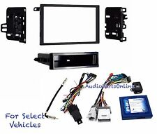 Car Radio Install Kit Combo Onstar w/+w/o Bose- retains Steering Control Some GM