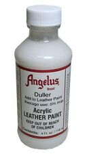 Angelus Duller for Acrylic Leather Dye/Paint- For A Non-Glossy Finish- 4oz