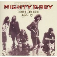 Mighty Baby Tasting The Life Live Malvern 1971 CD NEW SEALED Psych