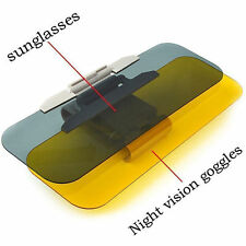 Car Anti-Glare Dazzle Goggle Mirror Day/Night Driving Sun Visors Extension
