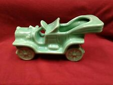 Vintage 1940s Decorative Touring Car Pottery Planter-Glossy Green- McCoy??