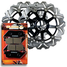 Honda Front High Quality Brake Disc Rotor + Pads GL 1500 Valkyrie (1997-2003)